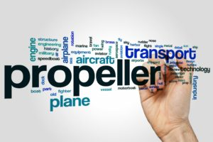 Propeller terminology word cloud